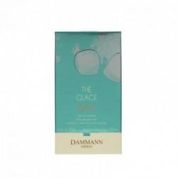 Thé glacé Bali thé vert parfumé litchi pamplemousse rose sachet cristal Dammann