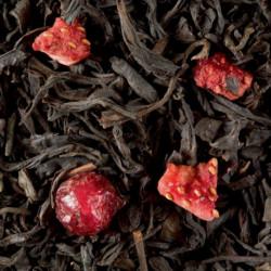 Thé noir parfumé 4 Fruits Rouges vrac