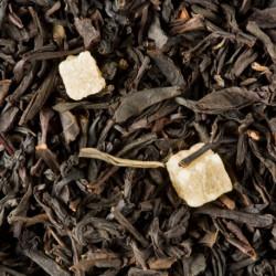 Thé noir parfumé Pêche Abricotée vrac