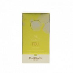 Thé glacé fidji thé vert parfumé citron citronnelle sachet cristal Dammann