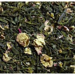 Thé vert parfumé Griotte de Noël vrac