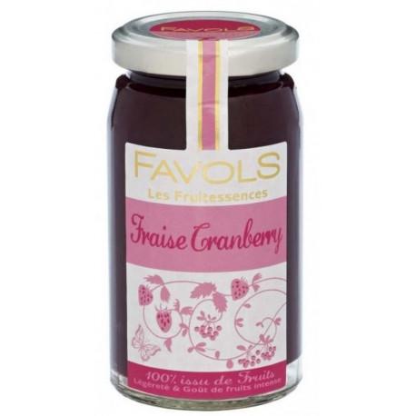 Fruitessence Favols fraise, cranberry, poids net 250g