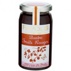Fruitessence Favols 4 fruits rouges poids net 250g