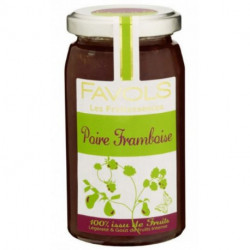 Fruitessence Favols poire framboise poids net 250g