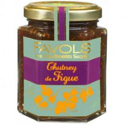 Chutney de figue Favols, poids net 220g
