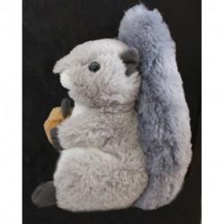 Peluche écureuil Gris