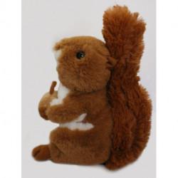 Peluche écureuil Roux