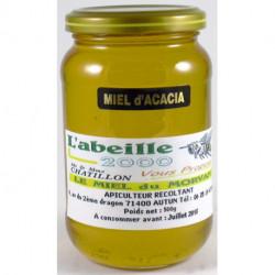 Miel d'acacia poids net 500g