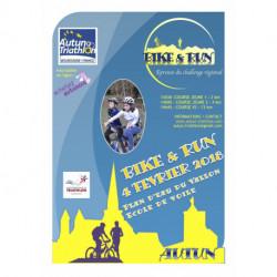 3ème BIKE AND RUN D'Autun - Course ADULTE XS (16 ans et +, né(e)s en 2002 et avant) - 04/02/2018 14h45