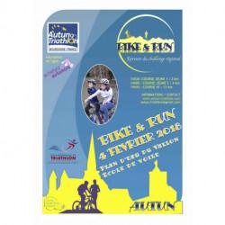 3ème BIKE AND RUN D'Autun - Course enfant J1 (6 - 11 ans, né(e)s entre 2007 et 2012) - 04/02/2018 13h30