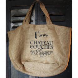 Château de Couches | Sac en toile de jute