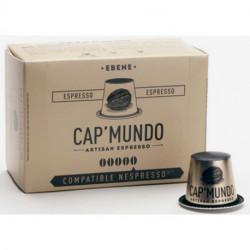 EBENE CAP'MUNDO capsules café compatibles Nespresso®*