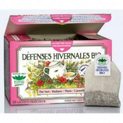 Tisane Défenses Hivernales biologique boite 20 sachets fraicheur Romon nature