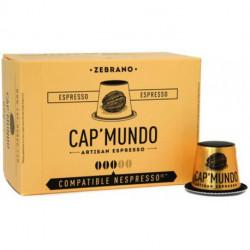 ZEBRANO CAP'MUNDO capsules café compatibles Nespresso®*