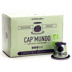 COPAÏBA CAP'MUNDO capsules café compatibles Nespresso®*