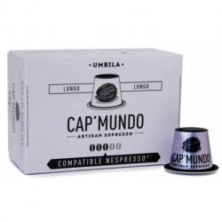 UMBILA CAP'MUNDO capsules café compatibles Nespresso®* (lungo)