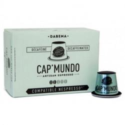 DABEMA CAP'MUNDO capsules café compatibles Nespresso®* decaféiné