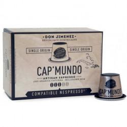 DON JIMENEZ CAP'MUNDO capsules café compatibles Nespresso®* République Dominicaine