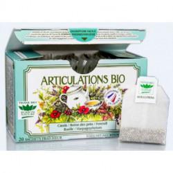 Tisane Articulations biologique boite 20 sachets fraicheur Romon nature