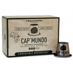 MOKA YRGACHEFFE CAP'MUNDO capsules café compatibles Nespresso®* Ethiopie