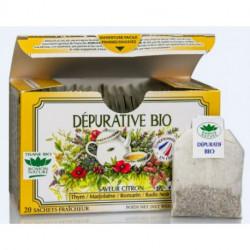 Tisane Dépurative biologique boite 20 sachets fraicheur Romon nature