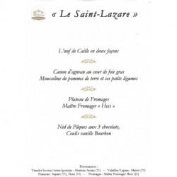 Le repas de la Villa Saint-Lazare pour Pâques
