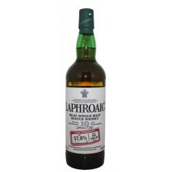 Laphroaig 10 ans Cask Strength Batch 001 57,8% Vol.