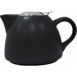 Théière avec filtre BARCELONA Noire 0,9 litre LA CAFETIERE®