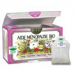 Tisane Aide Ménopause biologique boite 20 sachets fraicheur Romon nature