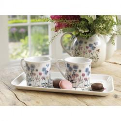 Coffret Tea for Two Meadow Bugs (2 Mugs, plateau) Royal Botanic Gardens Kew