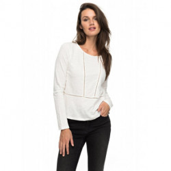 Tee-Shirt manches longues blanc We make together ROXY