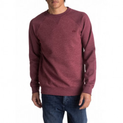 Sweat col rond bordeaux Everyday crew QUIKSILVER