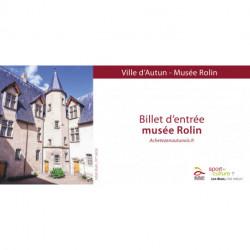 BILLET ENTREE MUSEE ROLIN