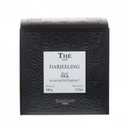 Thé noir Darjeeling sachet cristal Dammann