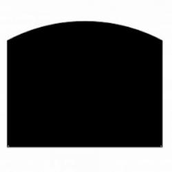 plaque de protection sol en acier noir