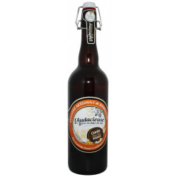 Flor'Ale bière rousse bio artisanale