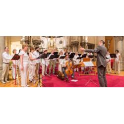 Concert -Groupe Le Chœur de chambre de l'Île de France - Vendredi 27 juillet 2018 - Epinac