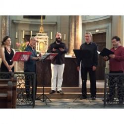 Concert -Groupe Ars Vocalis - Samedi 28 juillet 2018 - Autun