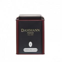 Thé noir Darjeeling boite 100g Dammann