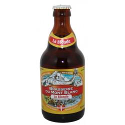 Blonde du Mont-Blanc Bière artisanale