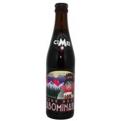 L'Abominable Bière Brune artisanale Brasserie des Cimes