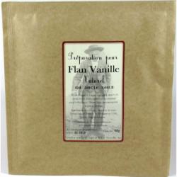 Préparation pour Flan ou Panna Cotta naturel au sucre roux