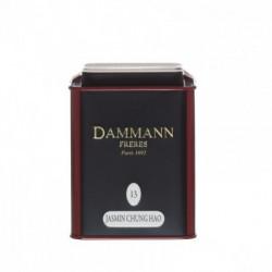 Thé vert parfumé Jasmin Chung Hao boite 100g Dammann