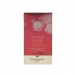 Infusion glacée Samba parfumée mangue et fruits tropicaux sachet cristal Dammann